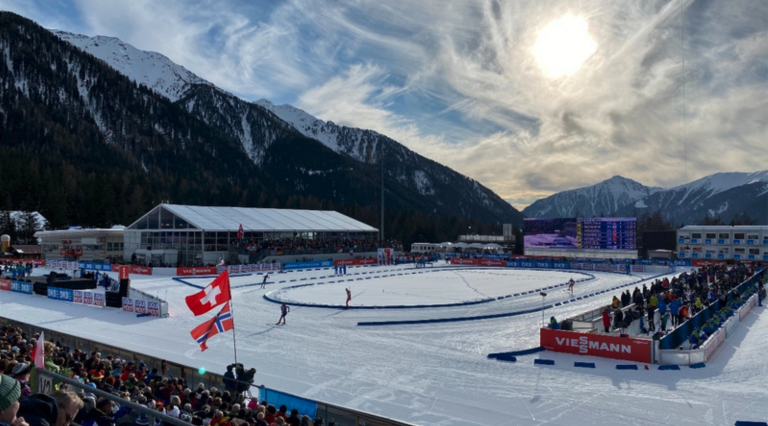 IBU Biathlon WM in Antholz